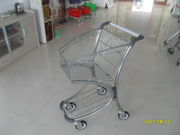 Çin 40L Supermarket Shopping Trolley easy to used in Free duty shop 731x515x1002mm Fabrika